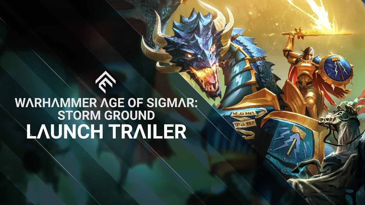 Warhammer Age of Sigmar: Storm Ground - Launch Trailer