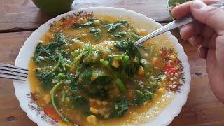 Bubur Khas Manado Dan Beda Dari Yang Lain - Indonesian Traditional Food