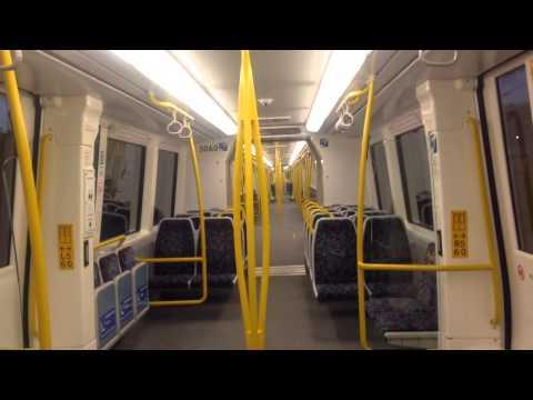 TransPerth B series on a Perth express
