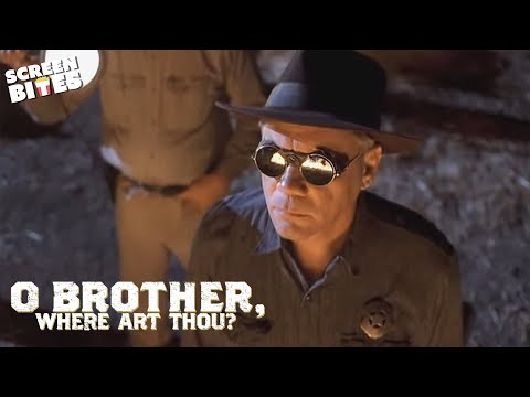 O Brother Where Art Thou: Tight spot (ft George Clooney, John Turturro, Coen Brothers)