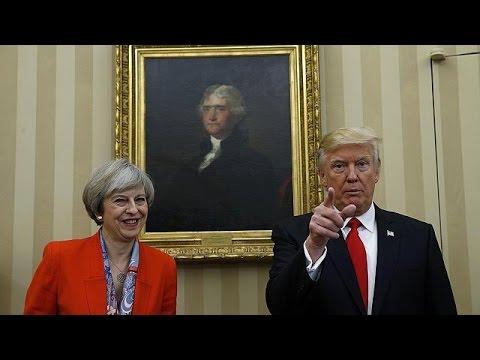 Echanges houleux au Parlement britannique sur Trump