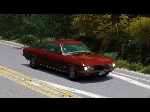 Chevrolet Corvair Monza 1969    Sunday Drive   Muscle Car  Assetto Corsa   Logitech G29 Gameplay