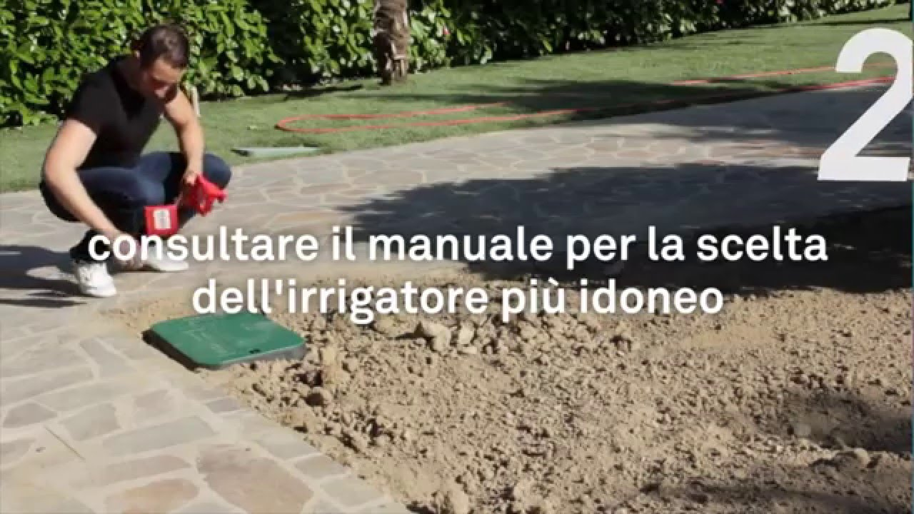 Kit irrigazione toro fai da te youtube for Fontana giardino fai da te