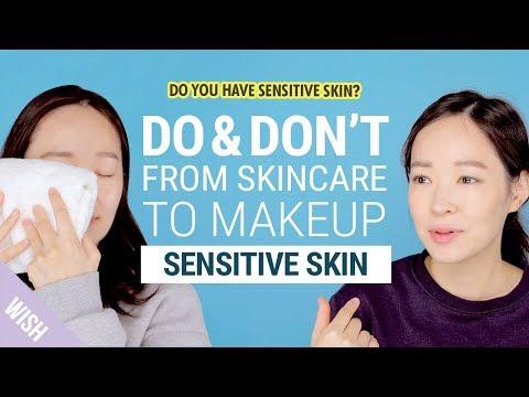 5 Basic Skincare Rules for Sensitive Skin | Do & Don't