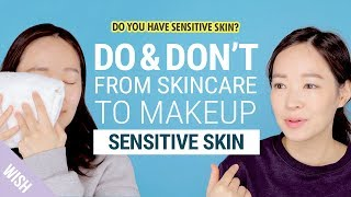 5 Basic Skincare Rules for Sensitive Skin | Do & Don't