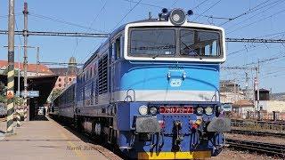 "ČD Diesel Locomotive ""Goggles man""  For Plzeň hl.n.   Brno hl.n."