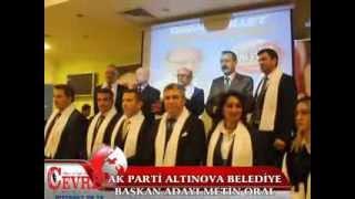 ALTINOVA BELEDİYE BAŞKAN ADAYI METİN ORAL TANITIM TOPLANTISI DÜZENLEDİ