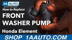 How to Replace Front Washer Pump 03-11 Honda Element