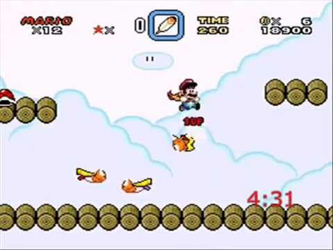 Some Guy's SMW Challenge [181 and Square Root of -5] 5-Minute 1-up Blitz and Front Door Rush