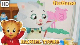 Daniel Tiger in Italiano 🐱 Gioca a Tempo con Katerina | Video per Bambini