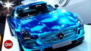 Mercedes SLS AMG Electric Drive 2012 Videos