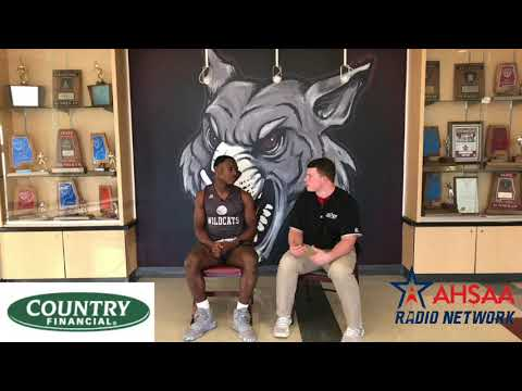 Za Stowes from Benjamin Russell High School sits down with the AHSAA Radio Network