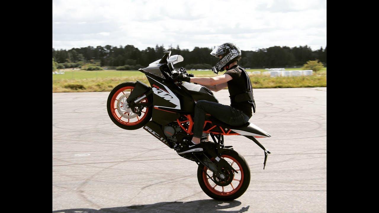 KTM RC 125 Wheelies | Summer 2016 - YouTube