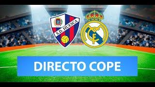 (SOLO AUDIO) Directo del Huesca 1-2 Real Madrid en Tiempo de Juego COPE