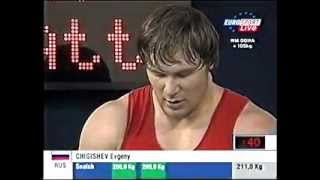 2005 World Weightlifting +105 Kg Snatch.avi
