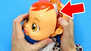 ABRO MUÑECA BEBES LLORONES Y ENCUENTRO ESTO... | Qué Hay Dentro de muñeca que llora lágrimas? thumbnail