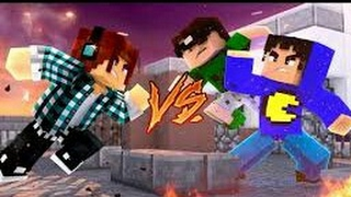 Minecraft: YOUTUBER VS YOUTUBER ( 100 Desafios #03)