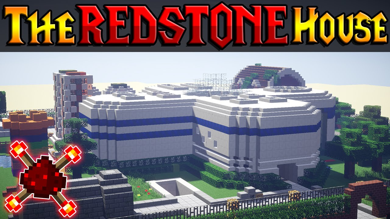 AMAZING REDSTONE HOUSE - The House of Redstone! (Over 100 ...