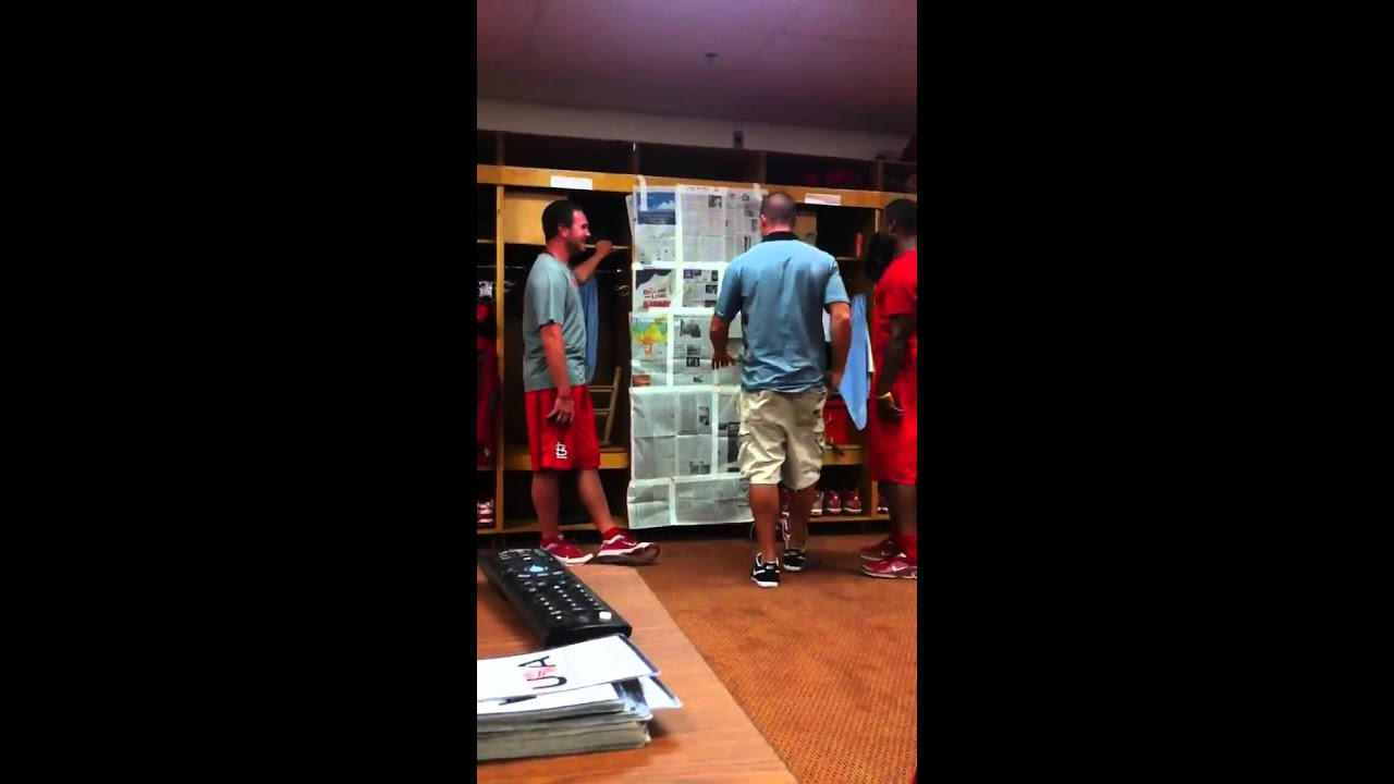 Locker Rooms Pranks