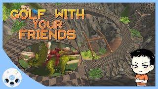 ตีกอล์ฟในสนามไดโนเสาร์ - Golf With Your Friends feat. MT Mew Minecraft