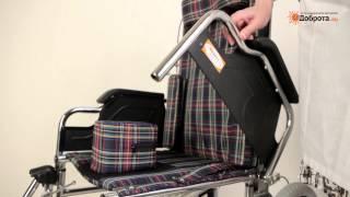 Видео-обзор инвалидного кресла-каталки Доброта Street Comfort