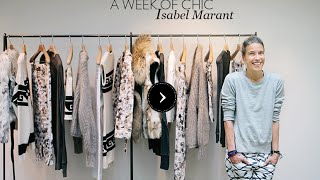 @work with Isabel Marant // A celebrated fashion designer, a fresh point of view