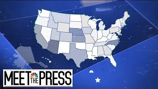 U-Haul Move Data Reveals Shifting American Political Landscape | Meet The Press | NBC News