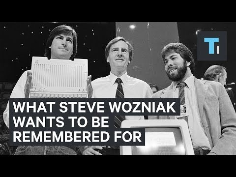 Steve Wozniak tells us what he wants to be remembered for