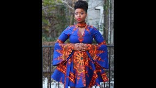 2019 Latest #Ankara Styles: Fashionable African Dresses 2019