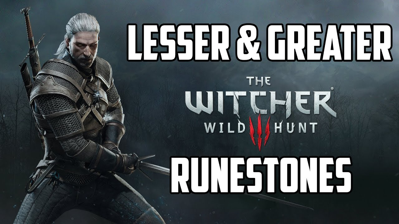Crafting Runestones Witcher