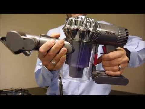 dyson v6 trigger pro handheld cordless vacuum cleaner youtube. Black Bedroom Furniture Sets. Home Design Ideas