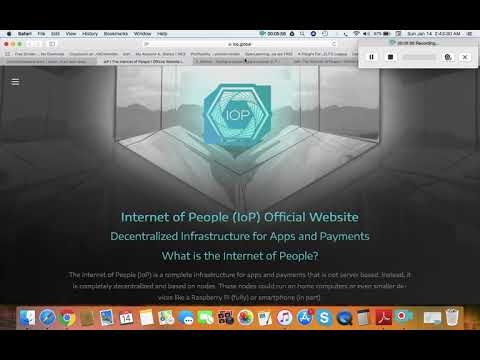 Undervalued Cryptocurrency- Internet of people (IOP)analysis and price prediction in  2018