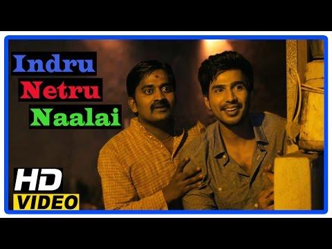 Indru Netru Naalai Tamil Movie | Scenes | Vishnu Discovers About T M Karthik's Accident |Karunakaran