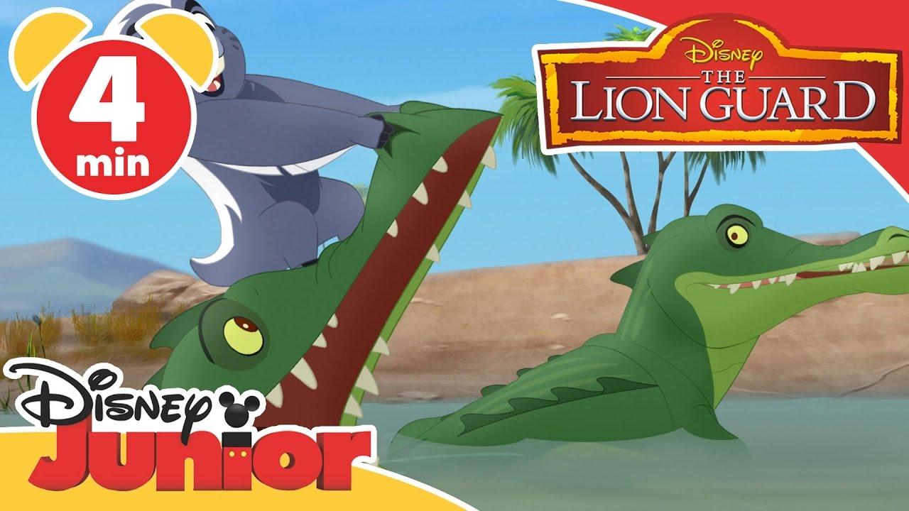 Magical Moments | Lion Guard: Crocodiles | Disney Junior UK