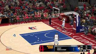 NBA 2k14 how to do alley oop