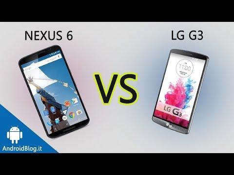 Motorola Nexus 6 vs LG G3 di AndroidBlog.it