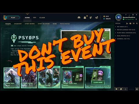 DO NOT BUY PsyOps Bundles (Here's Why) + REROLL TIME!!