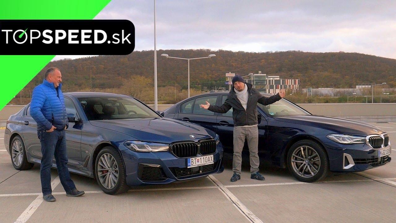 TEST BMW 540i proti BMW 540d * srdce versus rozum - benzín kontra dízel
