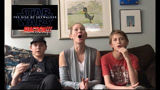 Star Wars Episode IX Teaser Reaction REST OF FAMILY