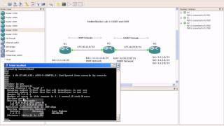 Route Redistribution Lab 2 EIGRP and OSPF