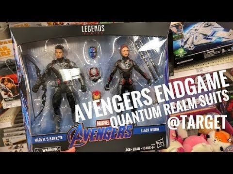 d5228753a193b EP97- Avengers Endgame Quantum Suit Hawkeye 2pack Marvel Legends at Target  Infinity Wars Toy Hunt