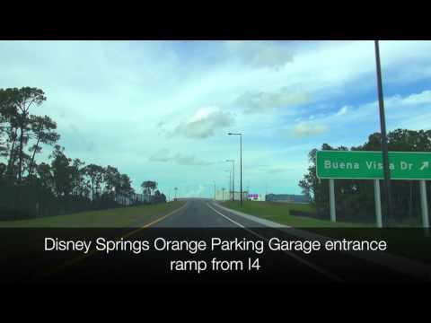 Disney Springs I-4 Ramp