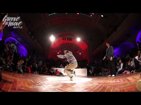 GROOVE'N'MOVE BATTLE 2015 - Popping round of sixteen / Ambra vs Stee.K Boogie