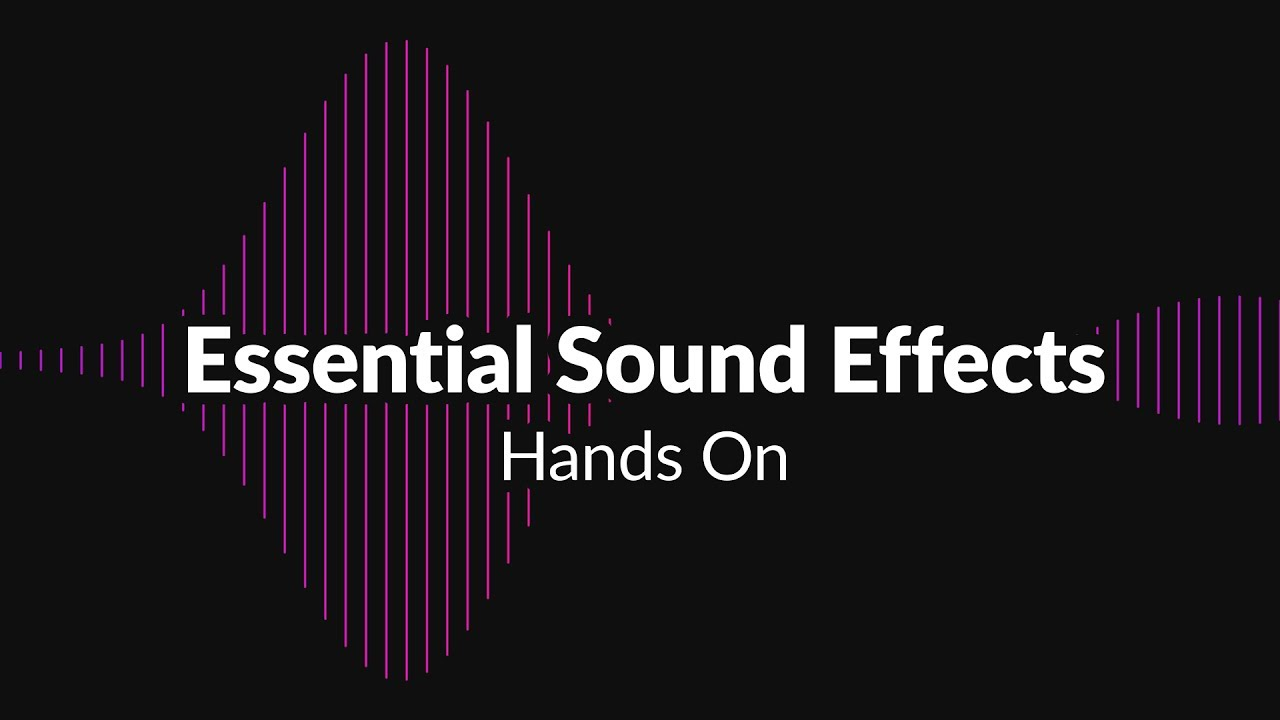 Essential Sound Effects for Motion Graphics - Mister Horse