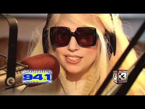 Lady Gaga Interview on Channel 94.1 Omaha, Nebraska