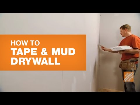 How To Tape And Mud Drywall (Reduce Sanding Time)