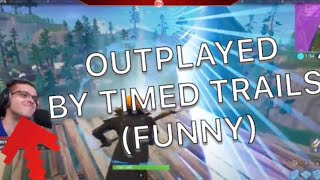 Nick eh 30 gets OUTPLAYED BY TIMED TRAILS! QUITS FORTNITE FOR BLACK OPS 4 (funny)