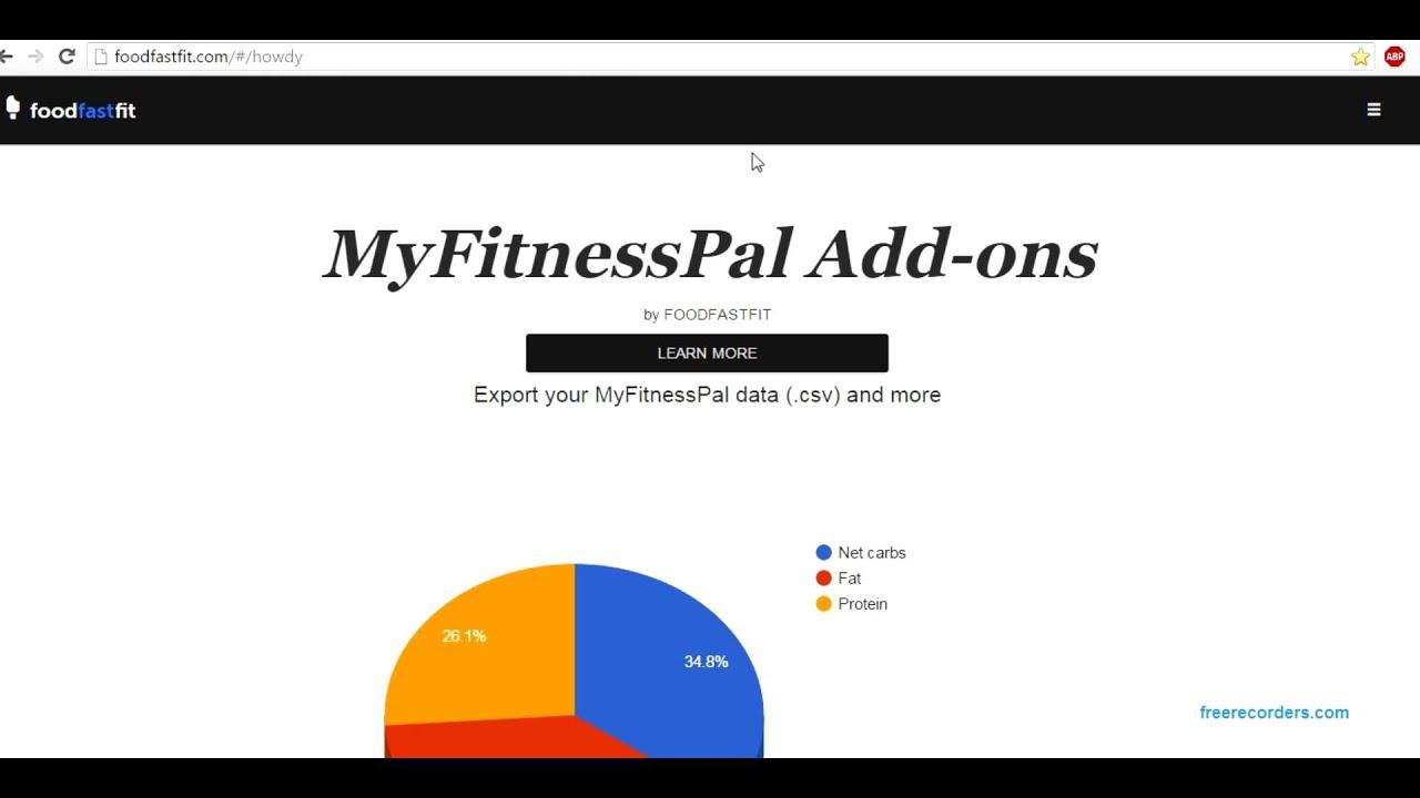How to Set Custom Macros in MyFitnessPal - Malzisfit - Online