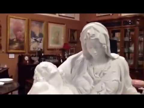 Pieta Marble Sculpture, Michelangelo Classic Statue