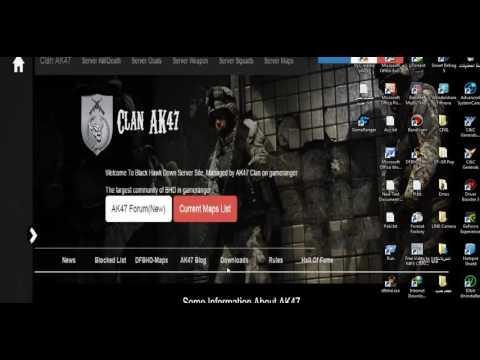 How To Download And Play Delta Force Black Hawk Down Team Sabre Multiplayer Online (via Gameranger)
